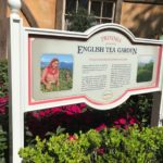 Royal Tea Garden Tour - Garden Sign